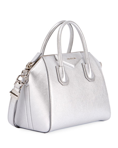 Antigona Metallic Mini Satchel Bag