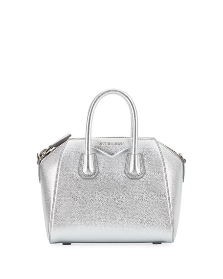 Givenchy Antigona Metallic Mini Satchel Bag