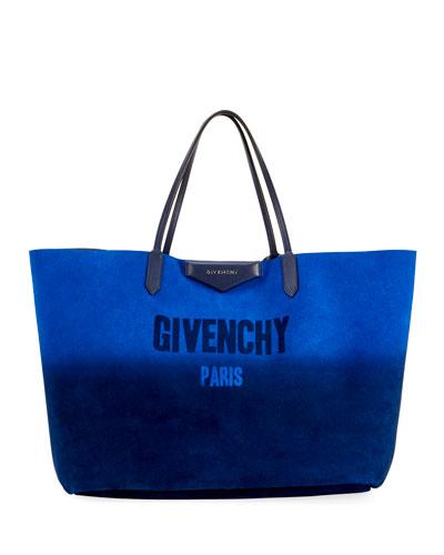 Antigona Shopping Large Gradient Tote Bag