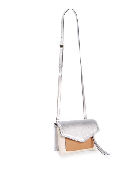 Duetto Colorblock Flap-Top Crossbody Bag