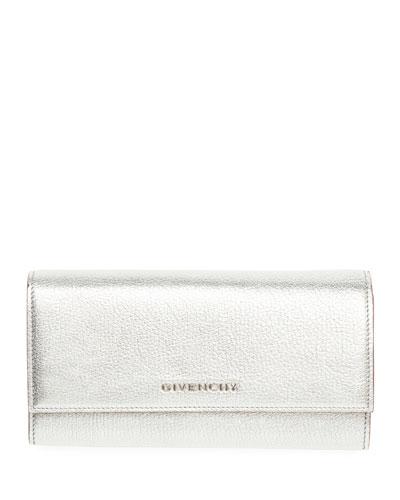 Pandora Metallic Long Flap Wallet