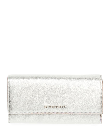 Givenchy Pandora Metallic Long Flap Wallet