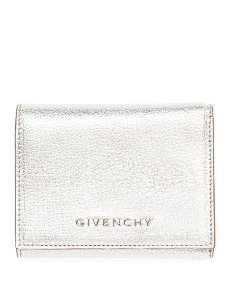 Givenchy Pandora Metallic Tri-Fold Wallet