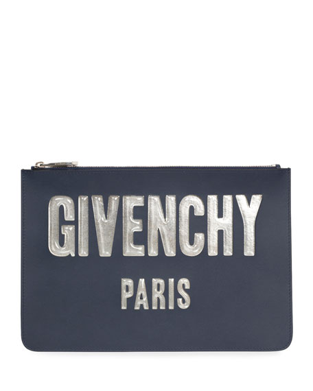Givenchy Iconic Bubble Flat Pouch Wallet