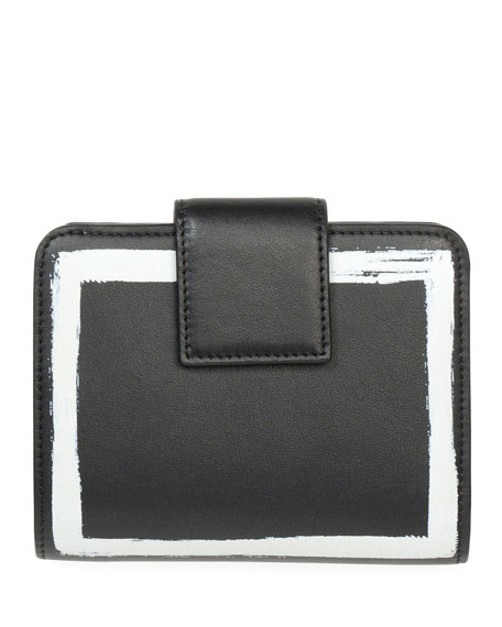 Iconic Printed Compact Wallet