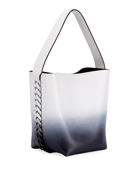 Infinity Ombre Leather Shoulder Bag