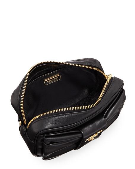 Small Napa Leather Shoulder Bag