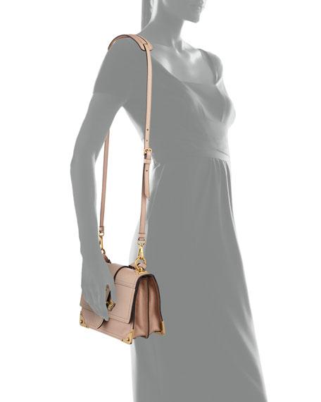 Glace Cahier Small Calf Shoulder Bag