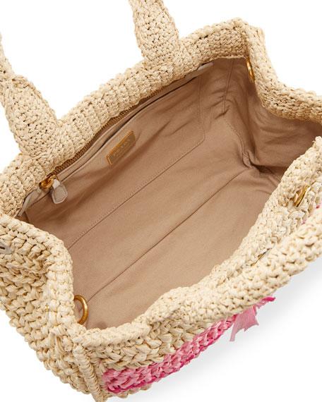 Large Raffia Tote Bag