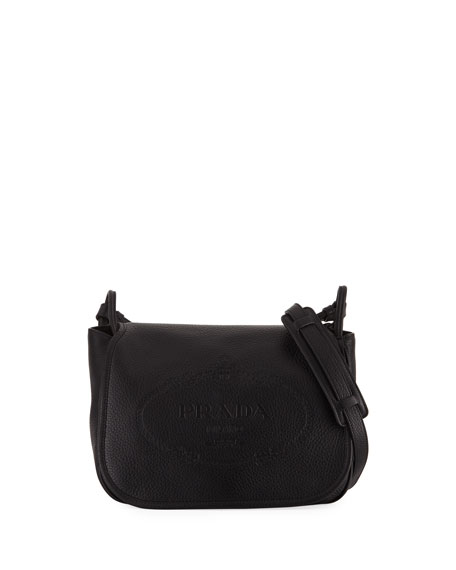 Prada Daino Medium Leather Shoulder Bag