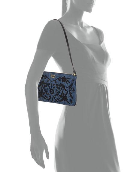 Denim Small Shoulder Bag