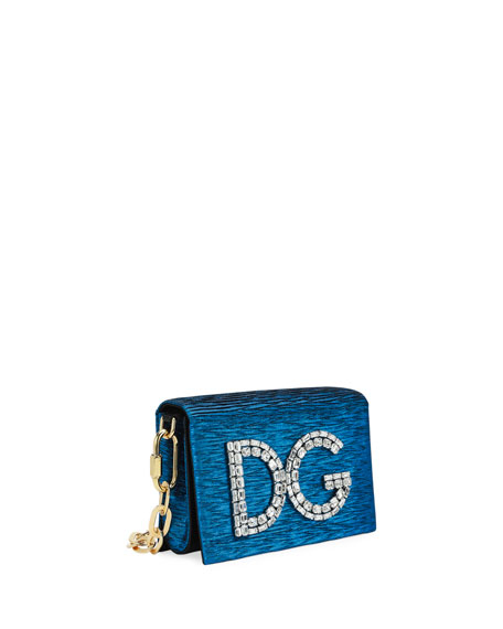 DG Girls Plissé Crossbody Bag
