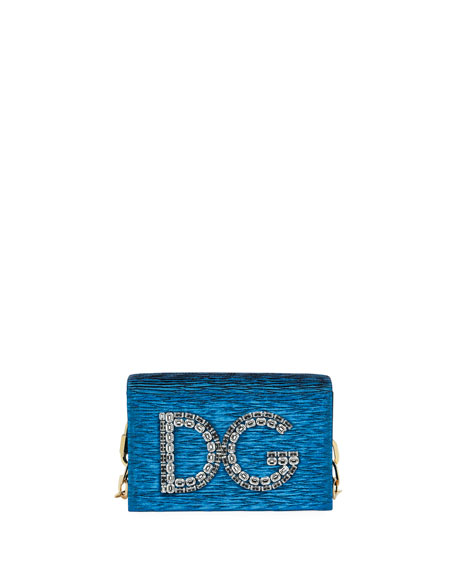 Dolce & Gabbana DG Girls Plisse Crossbody Bag