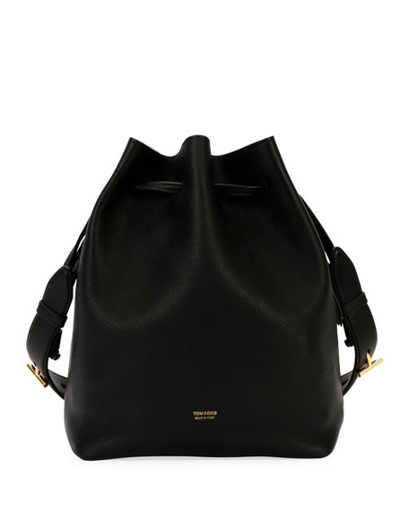 TOM FORD Edge Epson/Soft Calf Hobo Bag