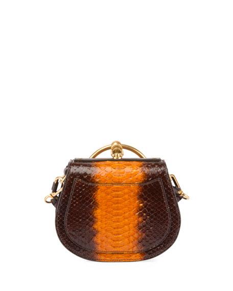 Nile Small Python Bracelet Bag