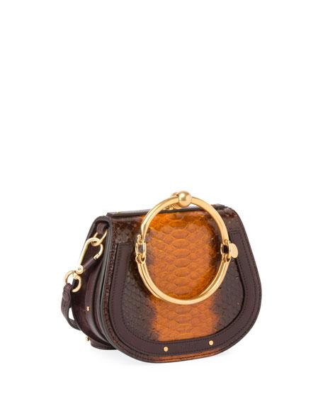 Chloe Nile Small Python Bracelet Bag