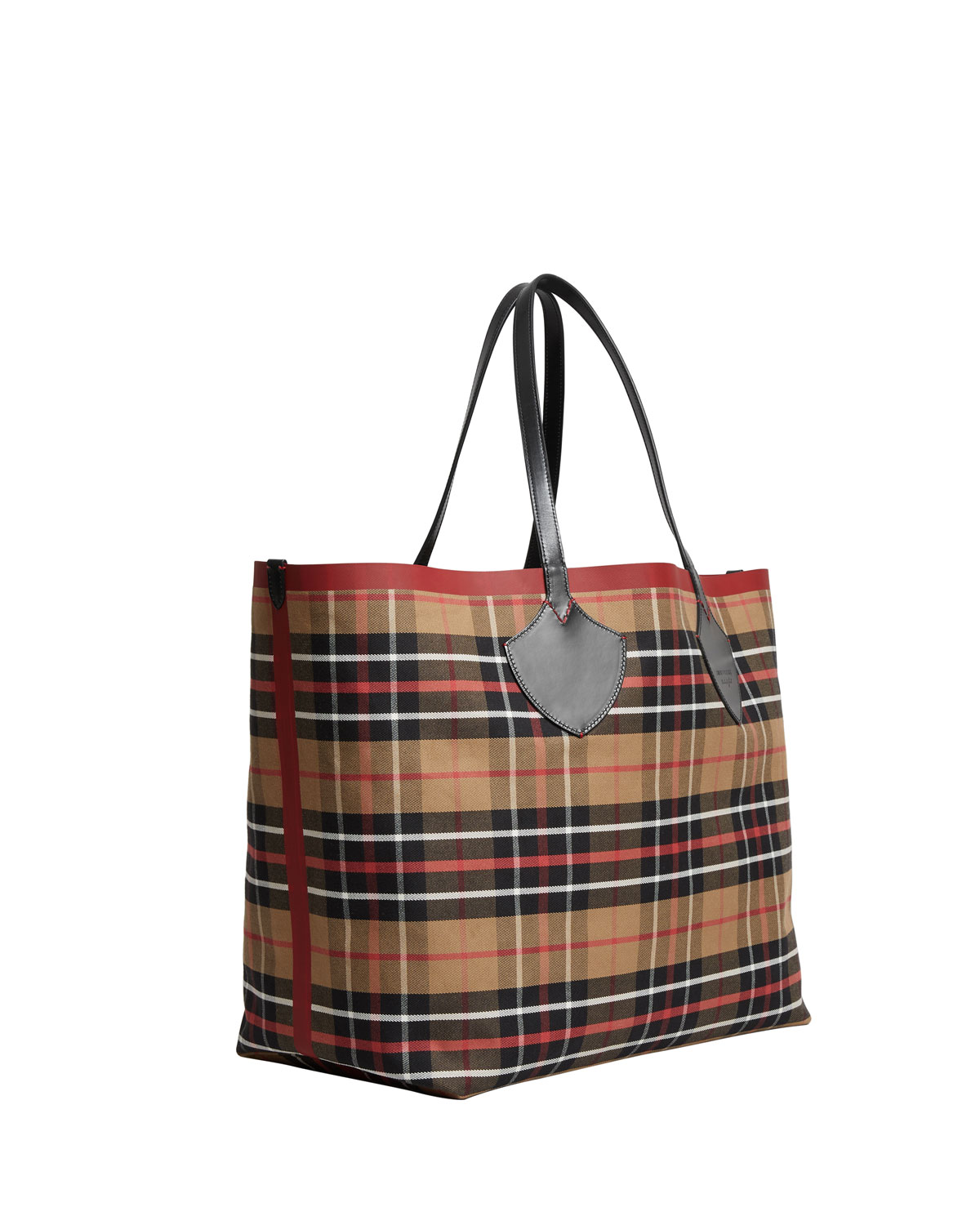 Sale Online Shopping Tartan Reversible Over Sized Tote - Only One Size / Multi Burberry Clearance Enjoy VKDF398