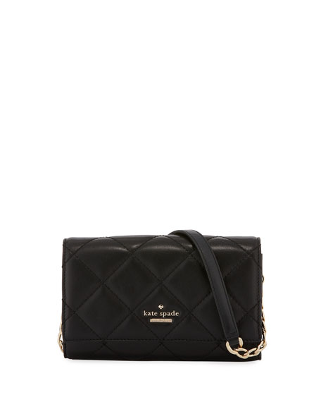 kate spade new york agnes quilted leather crossbody