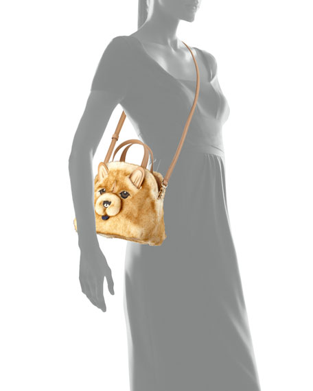 lottie chow chow small top handle bag, multi