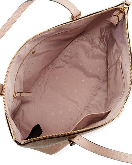 watson lane maya small leather tote bag