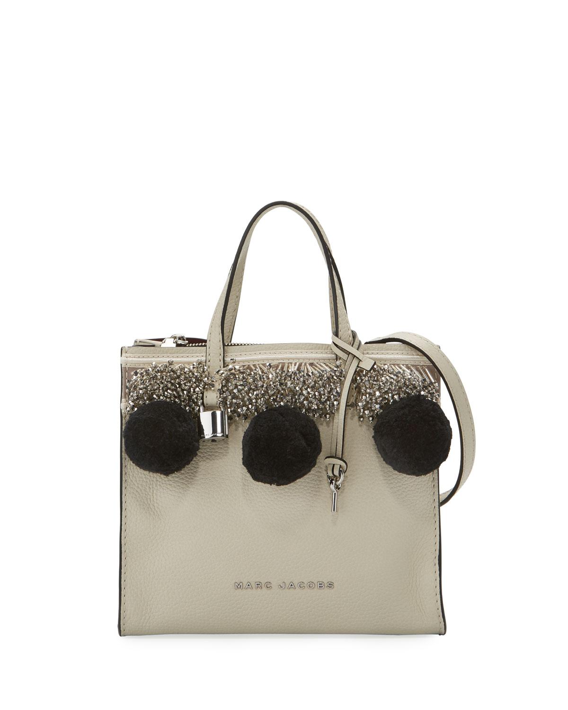 f8d1e6261043f Marc Jacobs Mini Grind Pompom Satchel Bag