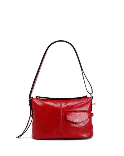 The Mini Sling Glossy Crossbody Bag