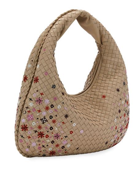 Meadow Flower Medium Hobo Bag