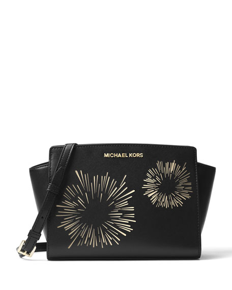 MICHAEL Michael Kors Selma Medium Firework Messenger Bag