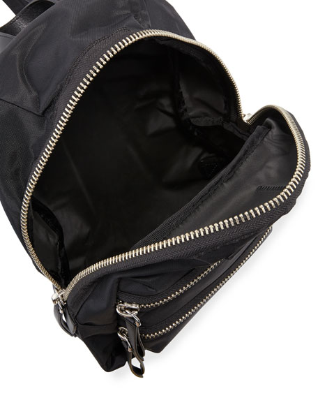 Mini Nylon Biker Backpack
