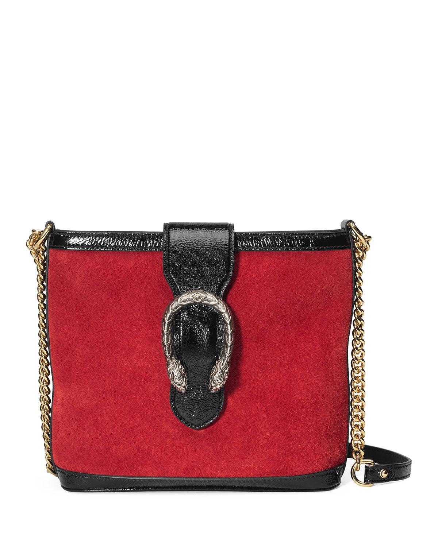 6b8bc5ee210 Gucci Dionysus Medium Suede Bucket Bag