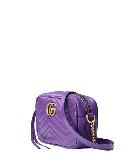 GG Marmont Mini Matelassé Camera Bag