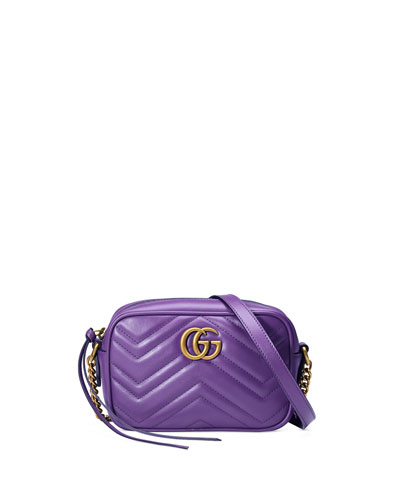 GG Marmont Mini Matelassé Camera Bag