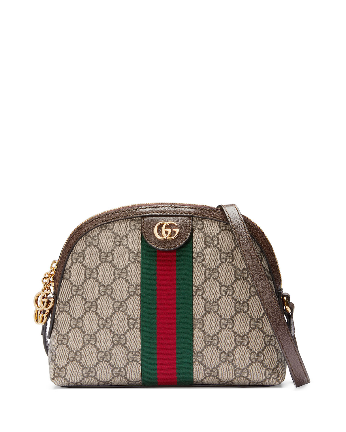 7c072cb736b Quick Look. Gucci · Linea Dragoni GG Supreme Canvas Small Shoulder Bag
