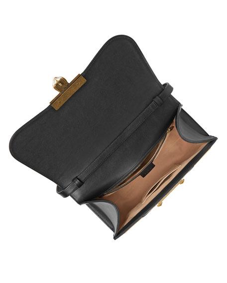 Iside Medium GG Supreme & Leather Top-Handle Bag