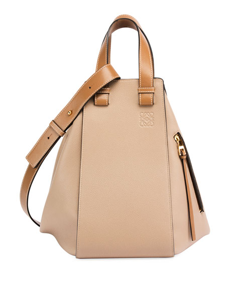 Loewe Hammock Two-Tone Leather Bag
