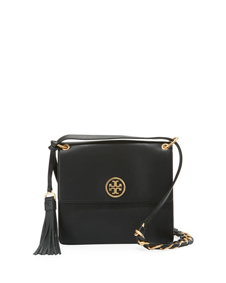 Tory Burch Brooke Smooth Leather Shoulder Bag
