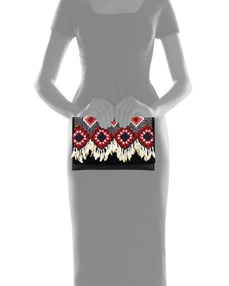 Brooke Embellished Clutch Bag