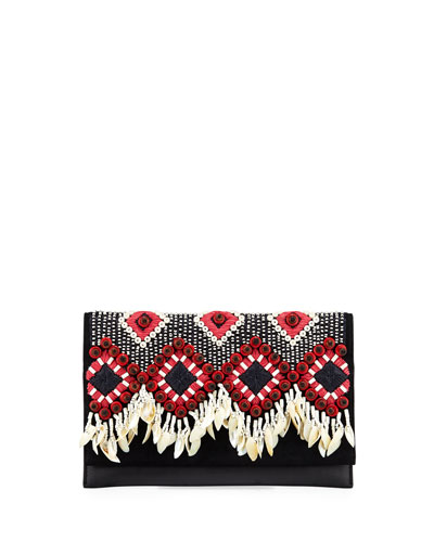 Brooke Embellished Clutch Bag