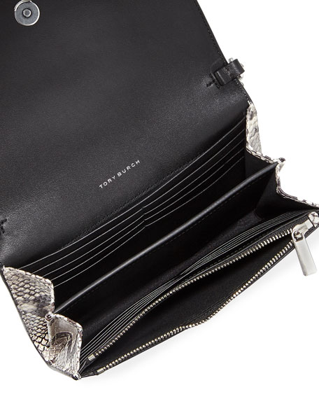 Robinson Embossed Wallet on a Chain