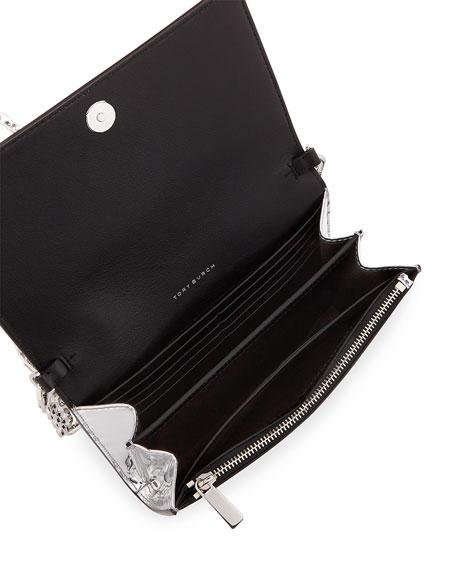 Robinson Mirror Metallic Chain Wallet