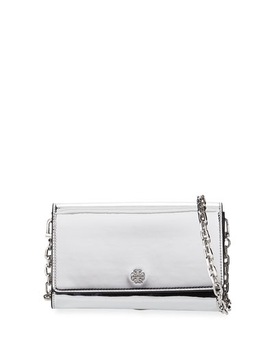 Robinson Mirror Metallic Chain Wallet