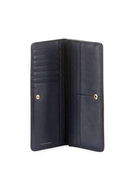 Robinson Slim Patent Leather Wallet