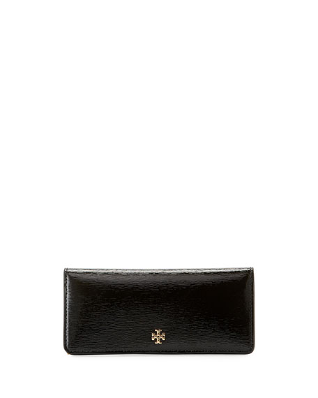 Tory Burch Robinson Slim Patent Leather Wallet
