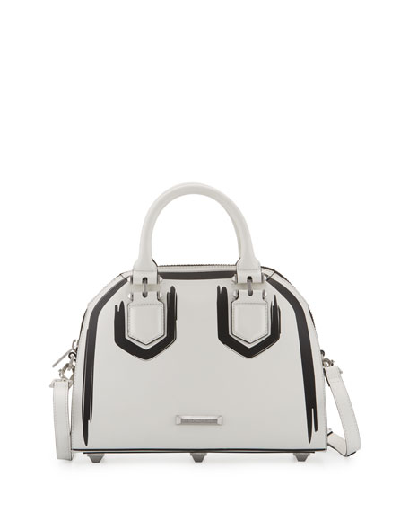 Kendall + Kylie Holly Leather Satchel Bag