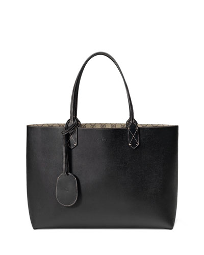 Reversible GG Leather Tote Bag