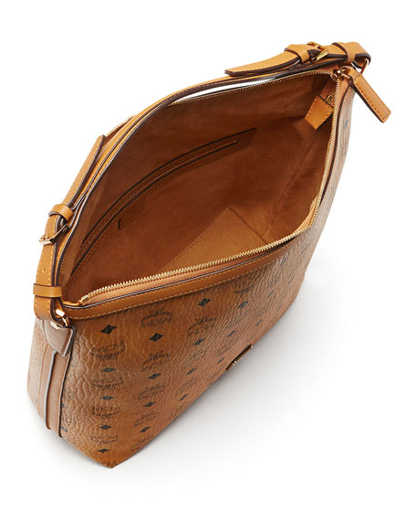 Essential Visetos Original Hobo Bag, Cognac