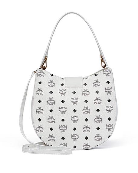 Patricia Visetos Outline Hobo Bag, White
