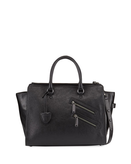 Rebecca Minkoff Jamie Large Leather Satchel Bag