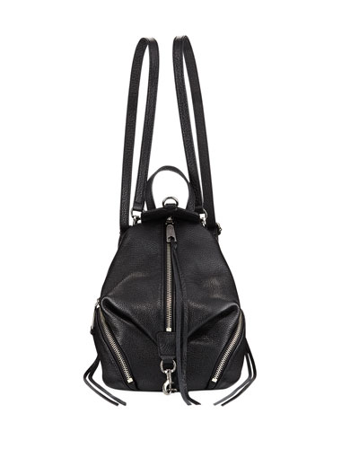 Julian Convertible Mini Leather Backpack