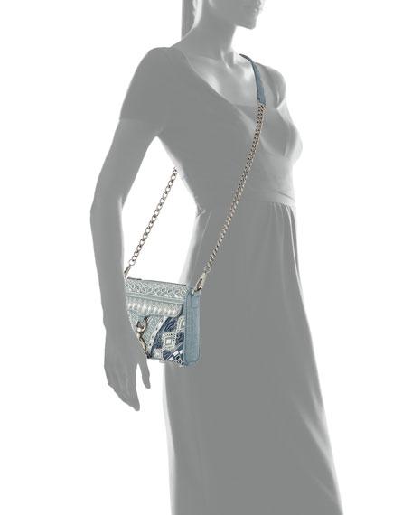 MAC Mini Denim Crossbody Bag